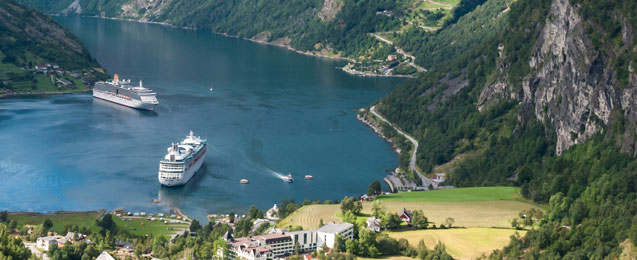 Fjordline relies on LNG ferries