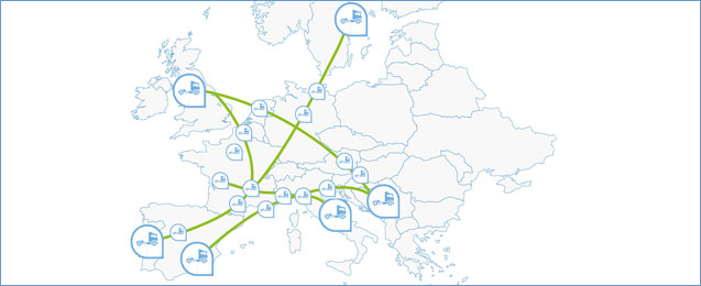 LNG Blue Corridors in Europe