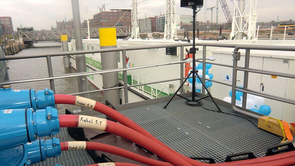 Die Stecker für die Stromversorgung