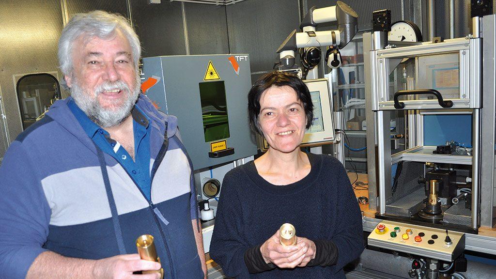 Günter Huber und Nicolina Vincitorio in Mimmo