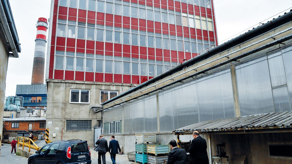 BMT plant in Brno