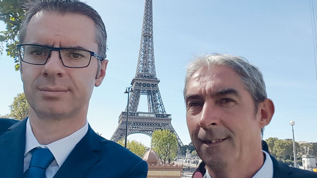 Active for HEROSE in France: Régis Dorner and Philippe Fusillier