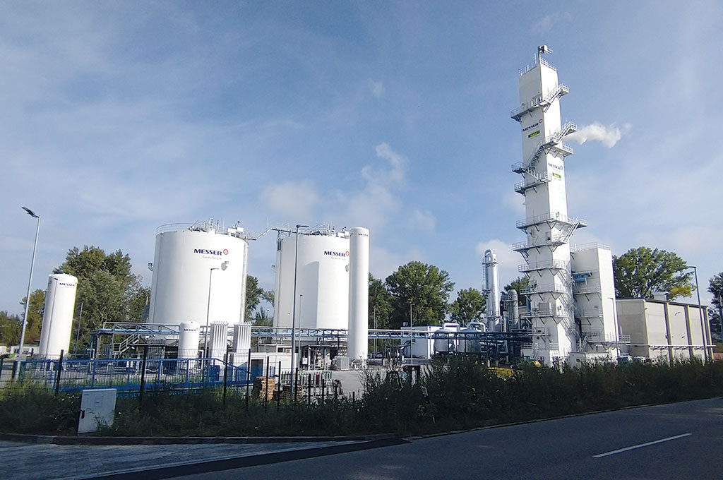 Air separation plant in Speyer