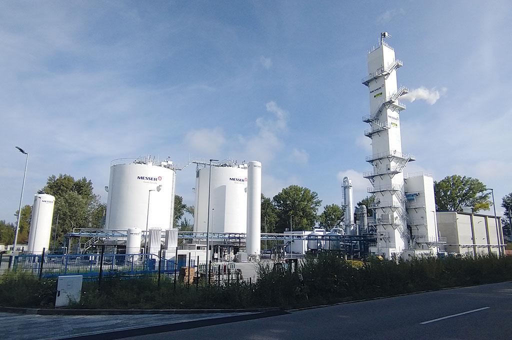Neue Anlage zur Luftzerlegung in Speyer