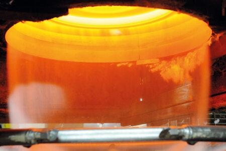 Sauerstoff aus der Luftzerlegung für Glaswolle