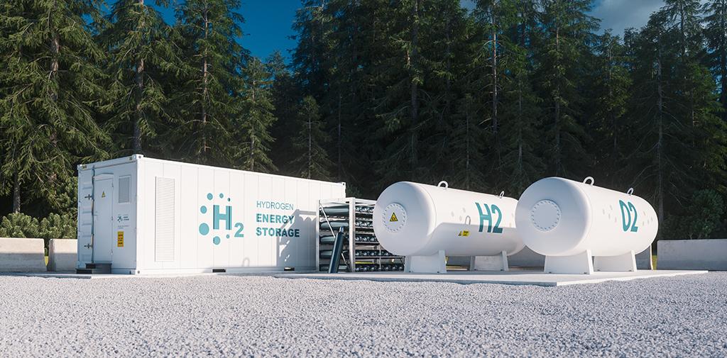 Green hydrogen - energy storage